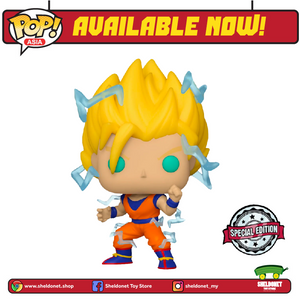 Pop! Animation: Dragon Ball Z - Super Saiyan 2 Goku [Exclusive] - Sheldonet Toy Store
