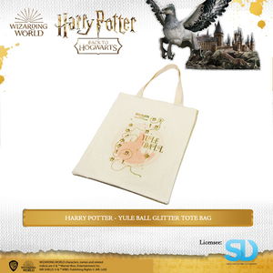 Wizarding World: Harry Potter Yule Ball Glitter Tote Bag
