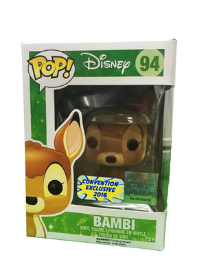 POP! Disney : Bambi (Flocked - Convention Exclusive 2016) - Sheldonet Toy Store