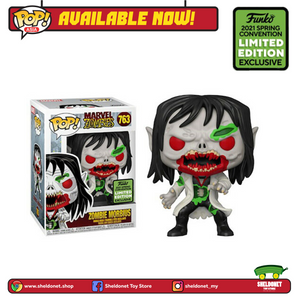 [PREORDER] Pop! Marvel: Marvel Zombies - Morbius [Spring Convention Exclusive 2021] - Sheldonet Toy Store