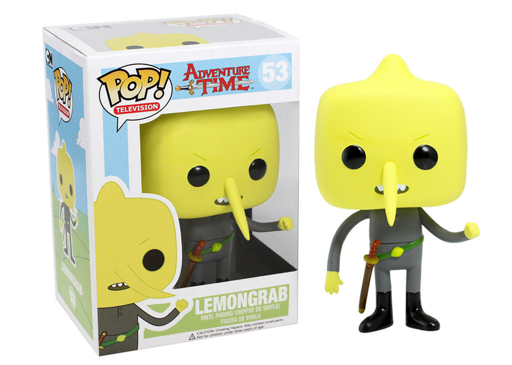 POP! TV: Adventure Time - Lemongrab - Sheldonet Toy Store