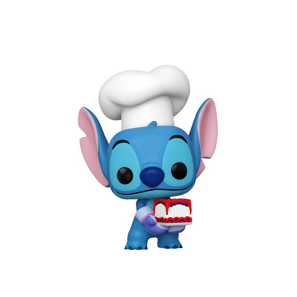Pop! Disney: Stitch - Stitch as Baker [Fall Convention Exclusive 2020] - Sheldonet Toy Store