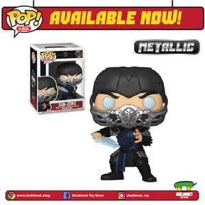 Pop! Movies: Mortal Kombat (2021) - Sub-Zero [Metallic] - Sheldonet Toy Store