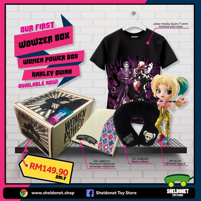 Wowzer Box: Women of Power - Harley Quinn