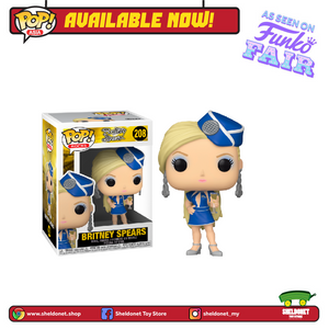 POP! Rocks: Britney Spears - Britney Spears (Toxic) - Sheldonet Toy Store