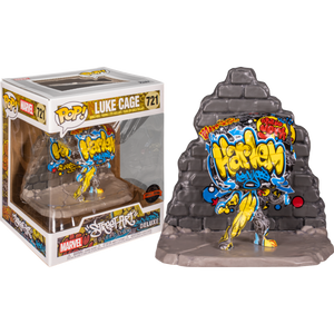 Pop! Deluxe: Marvel - Luke Cage (Graffiti Deco) [Exclusive] - Sheldonet Toy Store