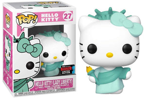 POP! Sanrio: Hello Kitty as Lady Liberty  [NYCC 2019 Fall Convention] - Sheldonet Toy Store