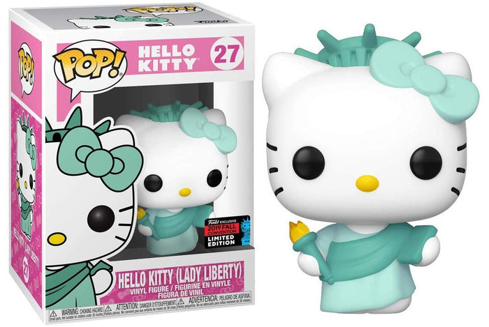 POP! Sanrio: Hello Kitty as Lady Liberty  [NYCC 2019 Fall Convention]