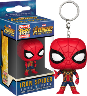 Pocket POP! Keychain : Marvel - Avengers Infinity War Iron Spider - Sheldonet Toy Store