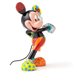 Enesco : Disney by Britto - Mickey Mouse Statue - Sheldonet Toy Store
