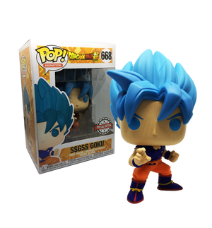 Pop! Animation: Dragonball Super - SSGSS Goku (668) [Exclusive] - Sheldonet Toy Store