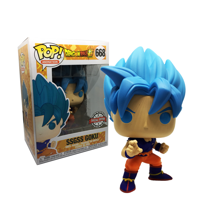Pop! Animation: Dragonball Super - SSGSS Goku (668) [Exclusive]