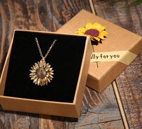 Sunflower Open Locket