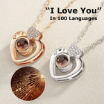 Multiple shaped-100 Languages I Love You Necklace💕