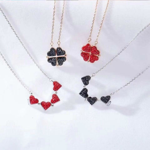 Four Leaf Clover Love Necklace💕
