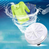 Mini Ultrasonic Washing Machine