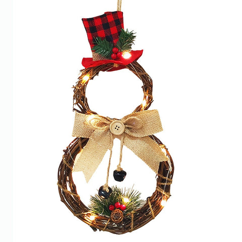 Christmas LED Wreath Hanging
