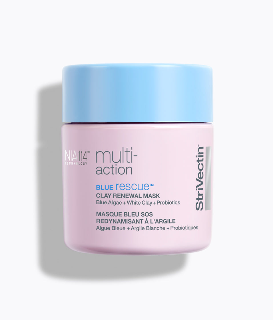 Multi-Action Blue Rescue Clay Renewal Mask