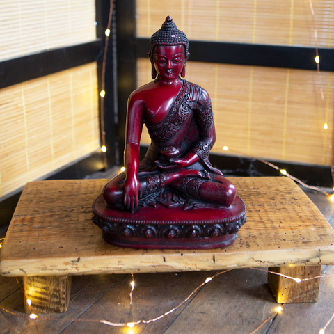 Earth Touching Buddha Statue I DharmaCrafts