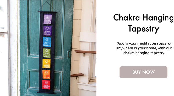 Chakra Hanging Tapestry I DharmaCrafts