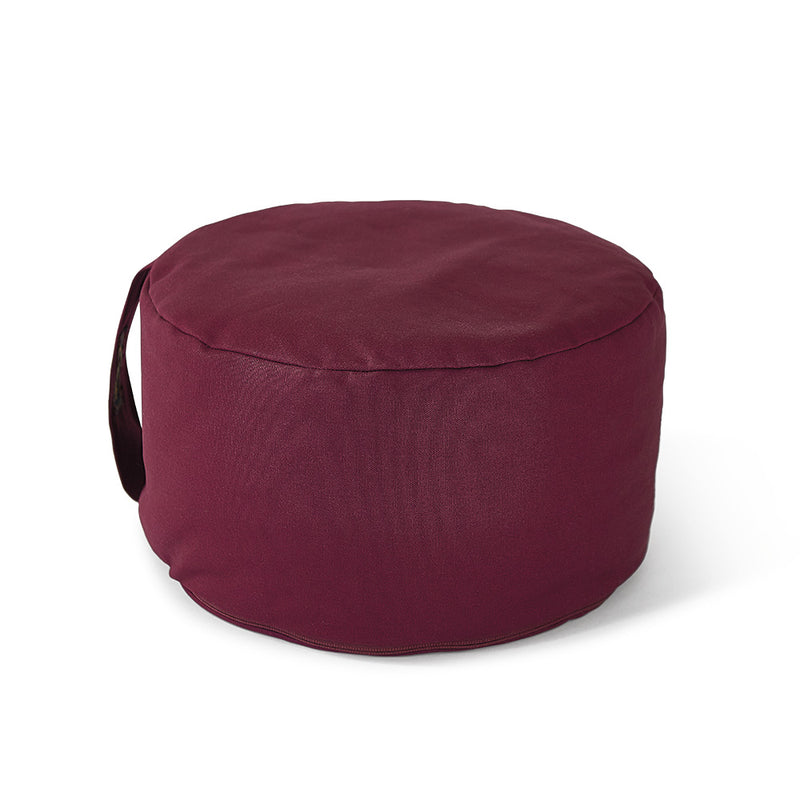 Studio Hi-Zafu Buckwheat Meditation Pillow