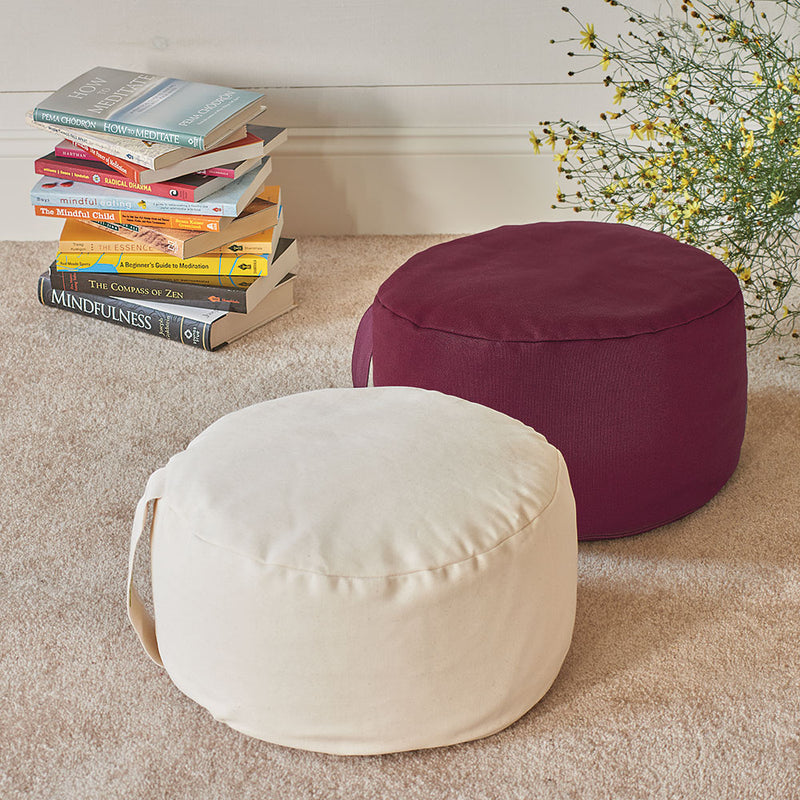 Hi-Zafu Buckwheat Meditation Pillow