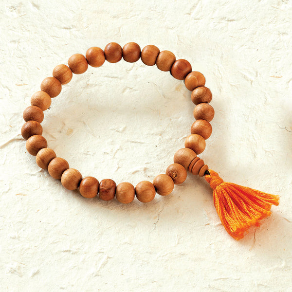 Sandalwood Stretchy Practice Mala