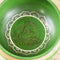 "Green Tara Singing Bowl, 6"" diameter"