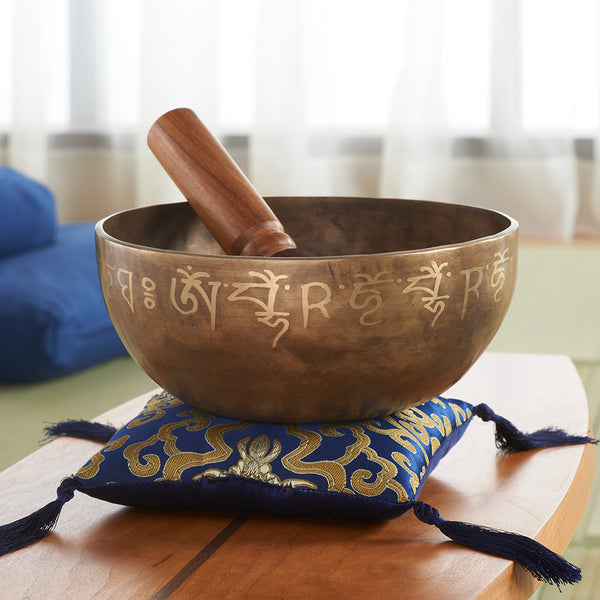 Medicine Singing Bowl W/ Cushion & Striker