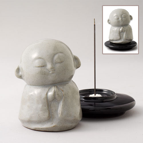 Porcelain Jizo Incense Burner