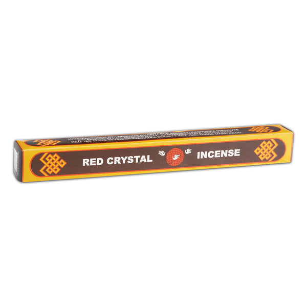 Genuine Red Crystal Tibetan Incense