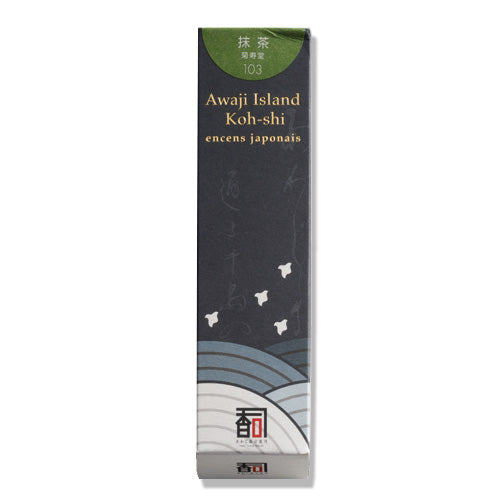 Low Smoke Awaji Island Incense, Green Tea (103)