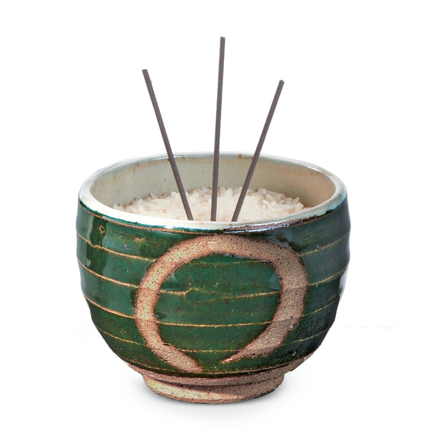 Zen Circle Incense Bowl
