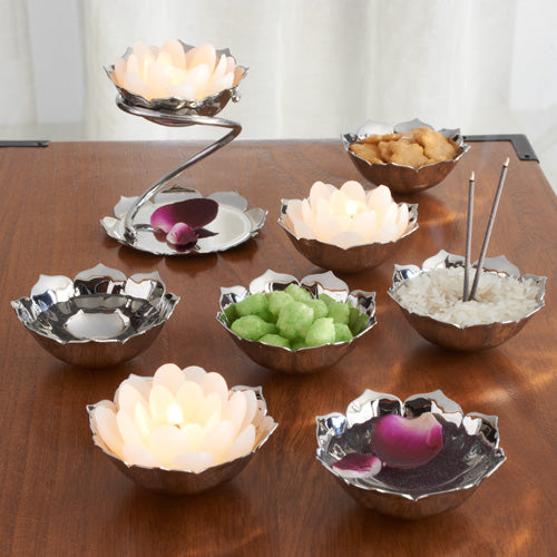 Lotus Offering Bowls, set of 7