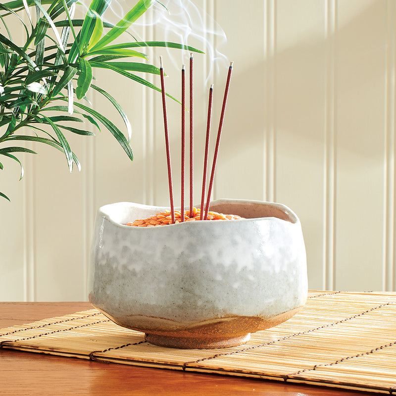 Wind and Snow Incense Bowl