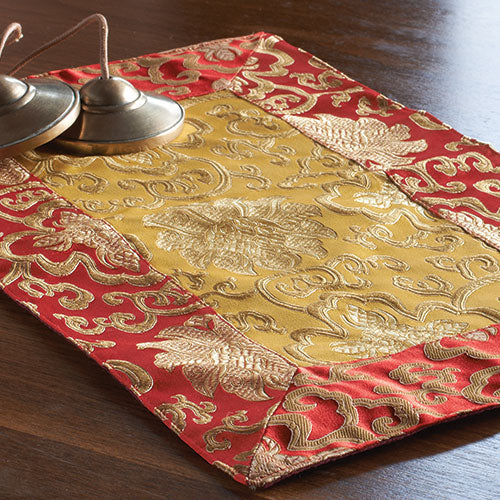 Red and Gold Brocade Altar Cloths