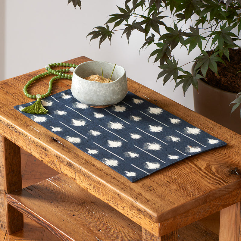 Ikat Altar Cloth, dots