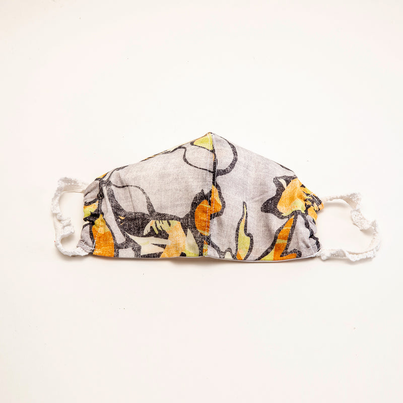 Abstract Printed Reusable Cloth Face Mask