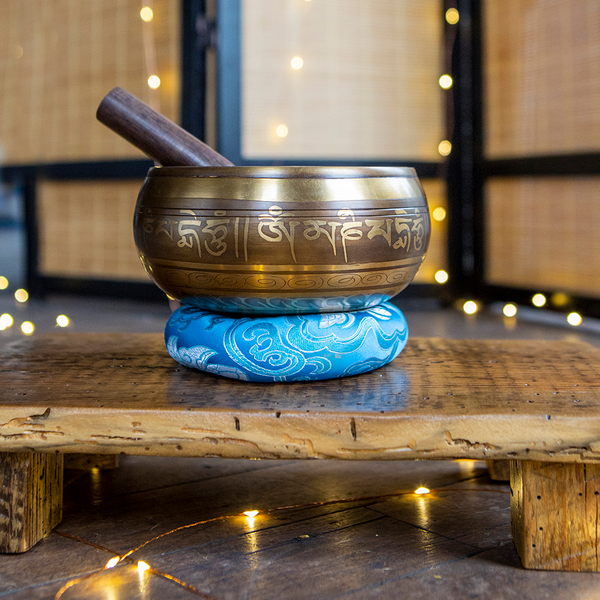 Five Buddha Singing Bowl, 5.5""
