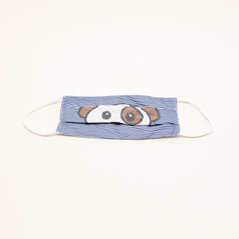 Reusable Cloth Face Mask Dog Print with Bag