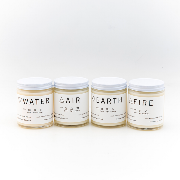 Zodiac Element Candles