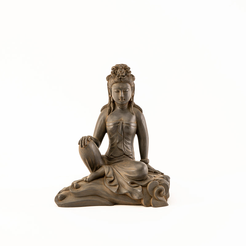 Small Kuan Yin Royal Ease Statue