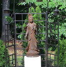 Garden Kuan Yin with Vessel Statue