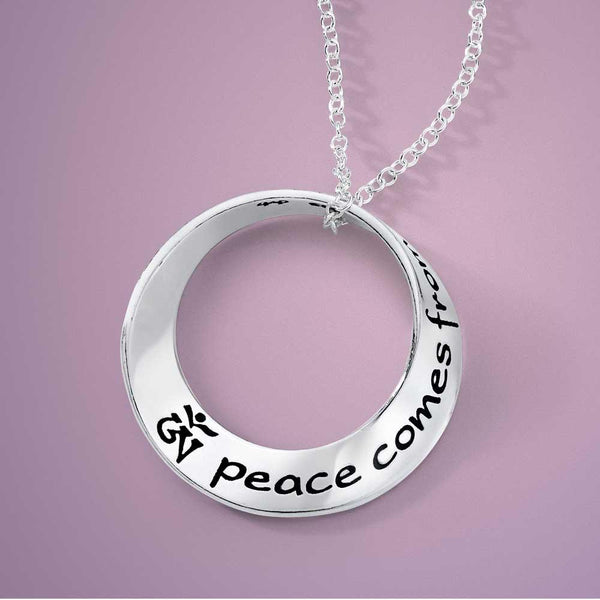 Peace Comes from Within Necklace