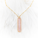 Akha Gemstone Pendant Necklace