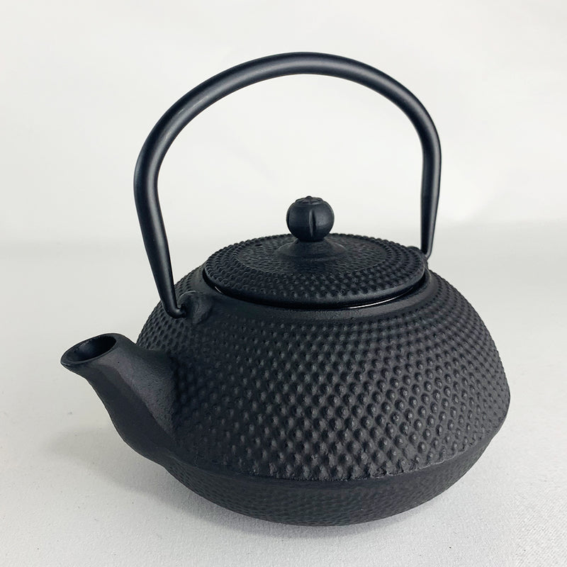 Black Cast Iron Teapot