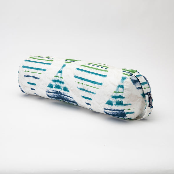 Watercolor Stripe Round Bolster