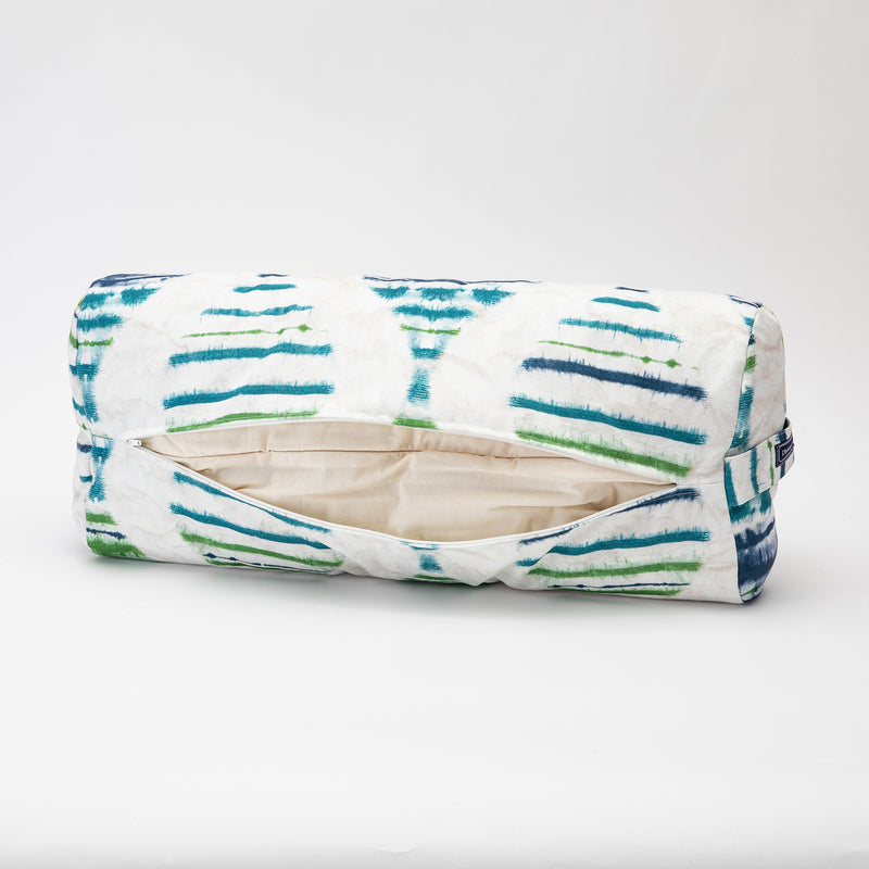 Watercolor Stripe Rectangular Bolster
