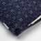 Navy Crosshatch Stitch Zabuton