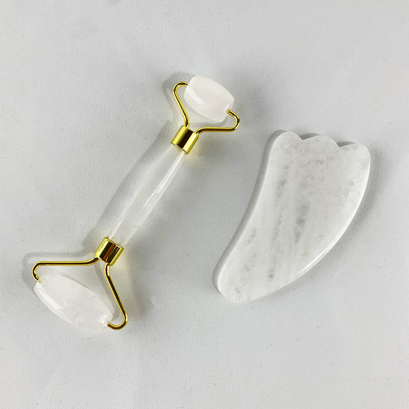 Facial Roller and Gua Sha Set